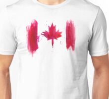 Watercolor flag of Canada T-Shirt