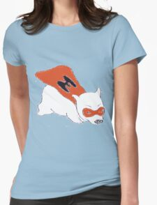Super Wombat! Womens Fitted T-Shirt