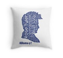 Allons-y, 10th Doctor, Doctor Who Throw Pillow
