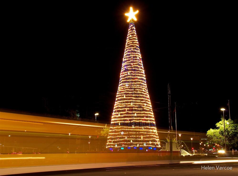 The Ghost of Christmas.......Trams! by Helen Vercoe