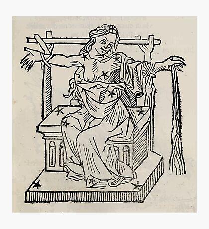 Hic Codex Auienii Continent Epigrama Astronomy Rufius Festivus Avenius 1488 Astronomy Illustrations 0151 Constellations Photographic Print