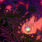 Haitian Sunset sultry tropical Summer dreamscape by Glimmersmith