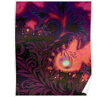 Haitian Summer Sunset sultry tropical dreamscape Poster