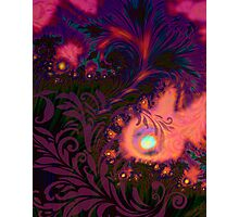 Haitian Summer Sunset sultry tropical dreamscape Photographic Print