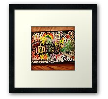 Tripper! Framed Print
