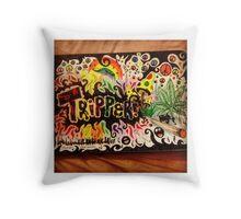 Tripper! Throw Pillow