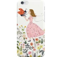 My pet the ladybug iPhone Case/Skin