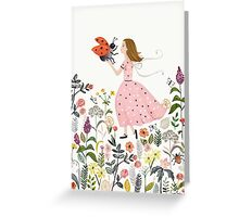 My pet the ladybug Greeting Card
