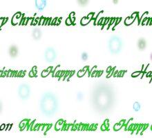 Christmas tree-line art Sticker