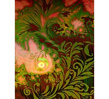 Haitian Autumn Sunset sultry tropical Fall dreamscape Photographic Print