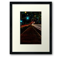 If life is a highway, then the soul is just a car Framed Print