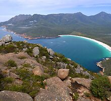 Wineglass Bay and The Hazards by Michael Barnett