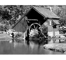 Old Mill Pond Photographic Print