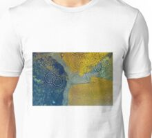 Water drops on stone  Unisex T-Shirt