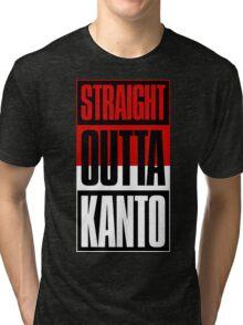 Straight Outta Kanto Tri-blend T-Shirt