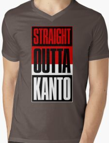 Straight Outta Kanto Mens V-Neck T-Shirt