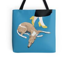 Sunday and the Yellow Shoes Tote Bag
