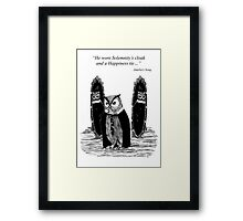 Owl from Amelia's Song Framed Print
