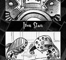 Iron Stan and the Croc wars! by Mike Cressy