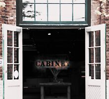 Shop front at the Distillery District by Melinda Watson