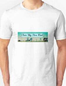 Clear Sky, Pure Mind Unisex T-Shirt