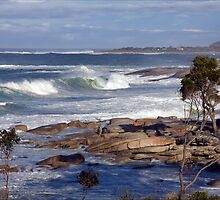 After the storm, Bicheno, Tasmania by pfleur