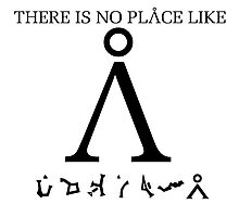 Stargate SG1 - There Is No Place Like Earth Photographic Print