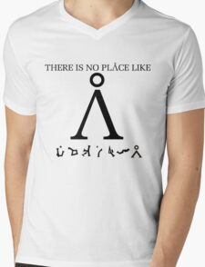 Stargate SG1 - There Is No Place Like Earth Mens V-Neck T-Shirt