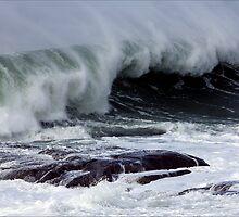 Roaring seas, Bicheno, Tasmania by pfleur