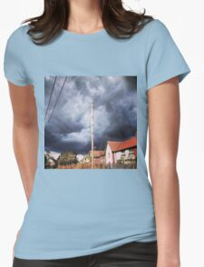 Attack of the Rain Womens Fitted T-Shirt