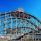 Cyclone Rollercoaster by Stephen Burke