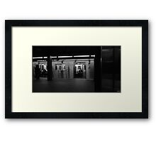 The Commuter  Framed Print