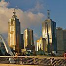 Sunset, Melbourne, Victoria, Australia.  by johnrf