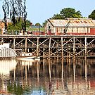 Port of Echuca by Lynden