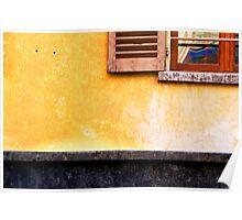 Yellow wall :: Window Poster
