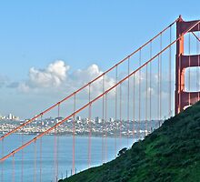 Golden Gate, Marin to San Francisco by Scott Johnson