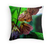 Bells of Beauty  (flowers) Throw Pillow