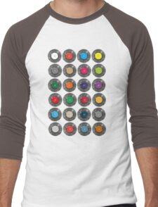 United Colours Of Vinyl Men's Baseball ¾ T-Shirt