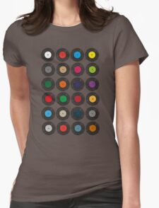 United Colours Of Vinyl Womens Fitted T-Shirt