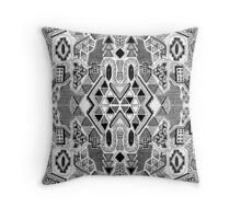 Busy Body Line Pattern Throw Pillow