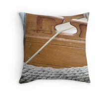 Wooden Boats, Launceston, Tasmania Throw Pillow