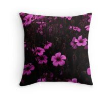 Purple & Purple, Golden Gate Park- SFO Throw Pillow