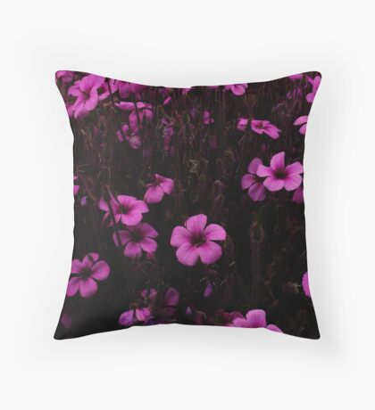 Purple & Purple, Golden Gate Park- SFO Throw Pillow