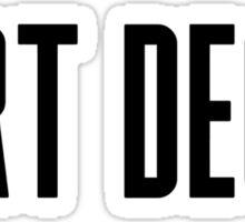 Art Deco Sticker