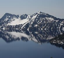 Reflections ~ Crater Lake by pixella