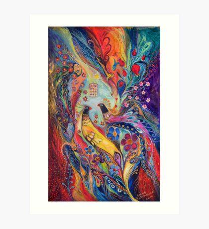 Two graces Art Print