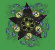 star bright(off centered) by Edith Arnold