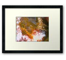 Cauldron (Turkish Agate) Framed Print