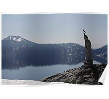 Crater Lake Watcher Poster