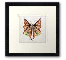 fox or butterfly? Framed Print
